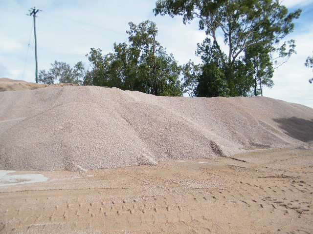 10mm Aggregate Stockpile