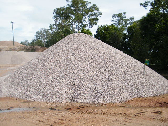 14mm Aggregate Stockpile
