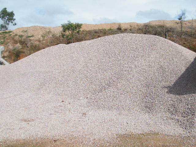 20mm Aggregate Stockpile