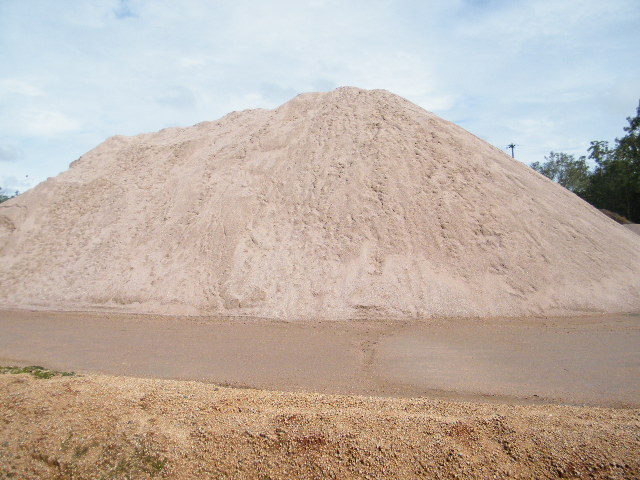 Crusher Dust Stockpile