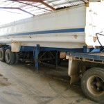 FOR SALE 1997 Kidner Tri-axle Semi End-Tipper