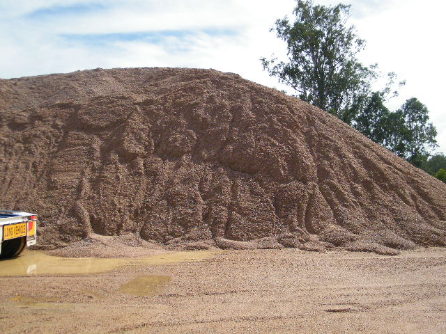 Maintenance Gravel Stockpile