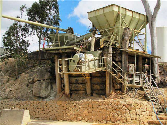 Pug Mill, Wongabel Quarries N Concrete Atherton Queensland