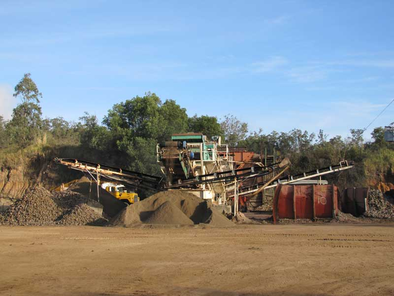 Crushing and Screening of Quarry Product